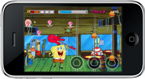 Burgers game on SpongeBob JellyFish Jam
