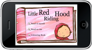 Little Red Riding Hood for iPhone - Menu