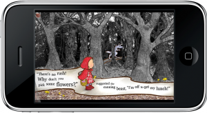 Little Red Riding Hood for iPhone - in the Forest