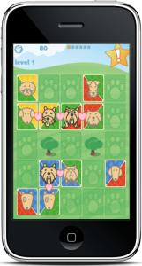 מסך לדוגמא מתוך PuppyPark
