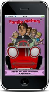 Family Matters מסך ראשי